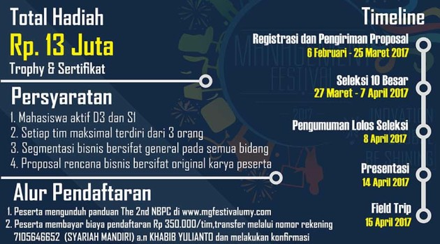 The-2nd-National-Business-Plan-Competition-Universitas-Muhammadiyah-Yogyakarta-14-15-April-2017