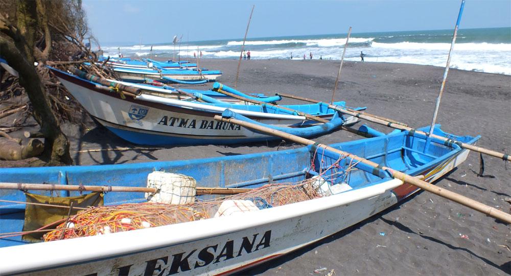 Pantai Baru di Bantul Pandansimo