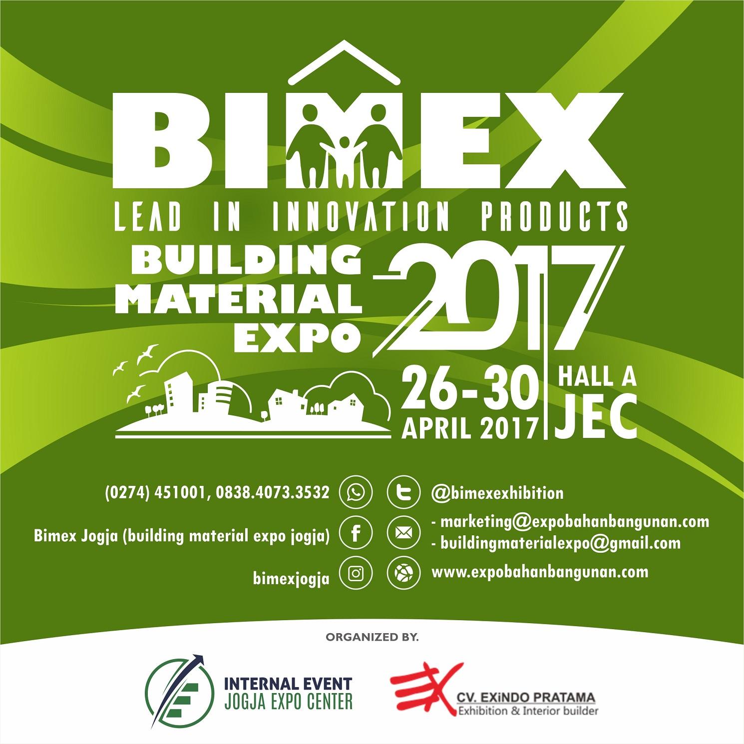 BIMEX, Expo Bahan Bangunan 2017
